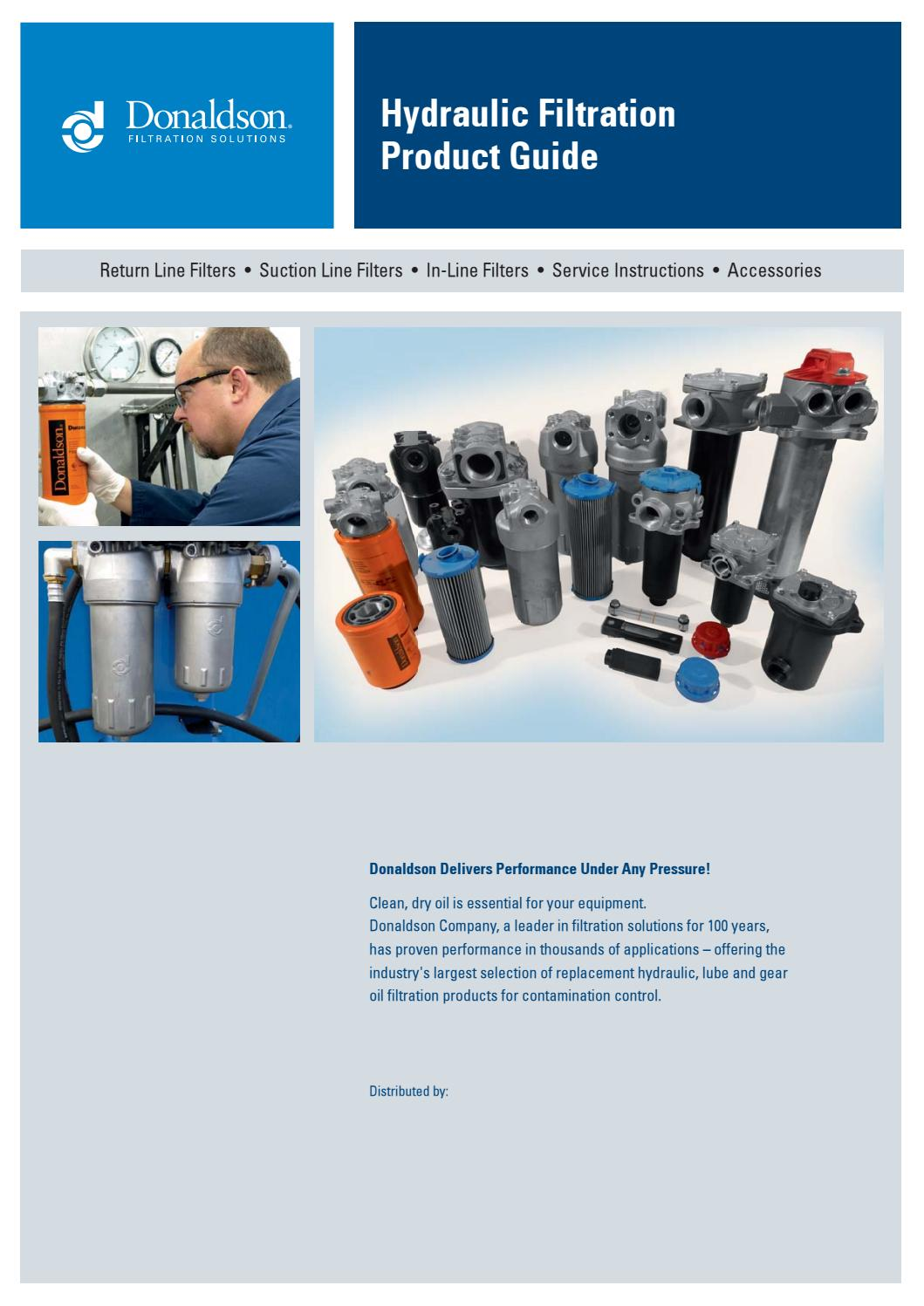 Hydraulic Filtration Product Guide by Danitech A/S - issuu