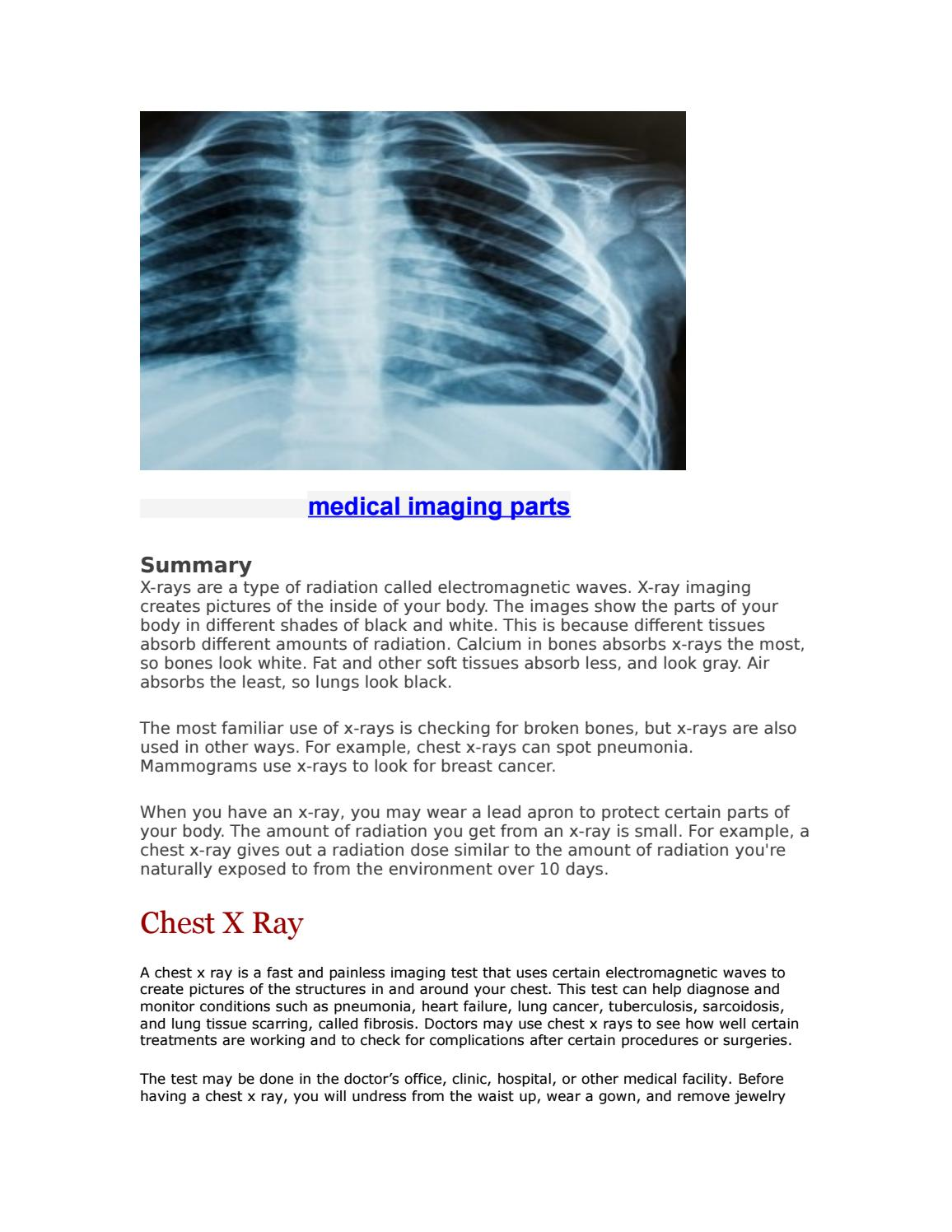 Medical parts imaging by artuhin26 - issuu