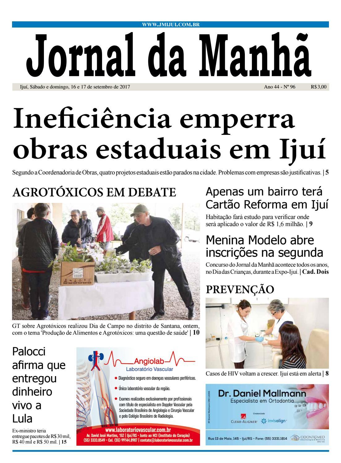 Jornal da Manhã - Sábado - 16-09-17 by clicjm - issuu b737d653092c8
