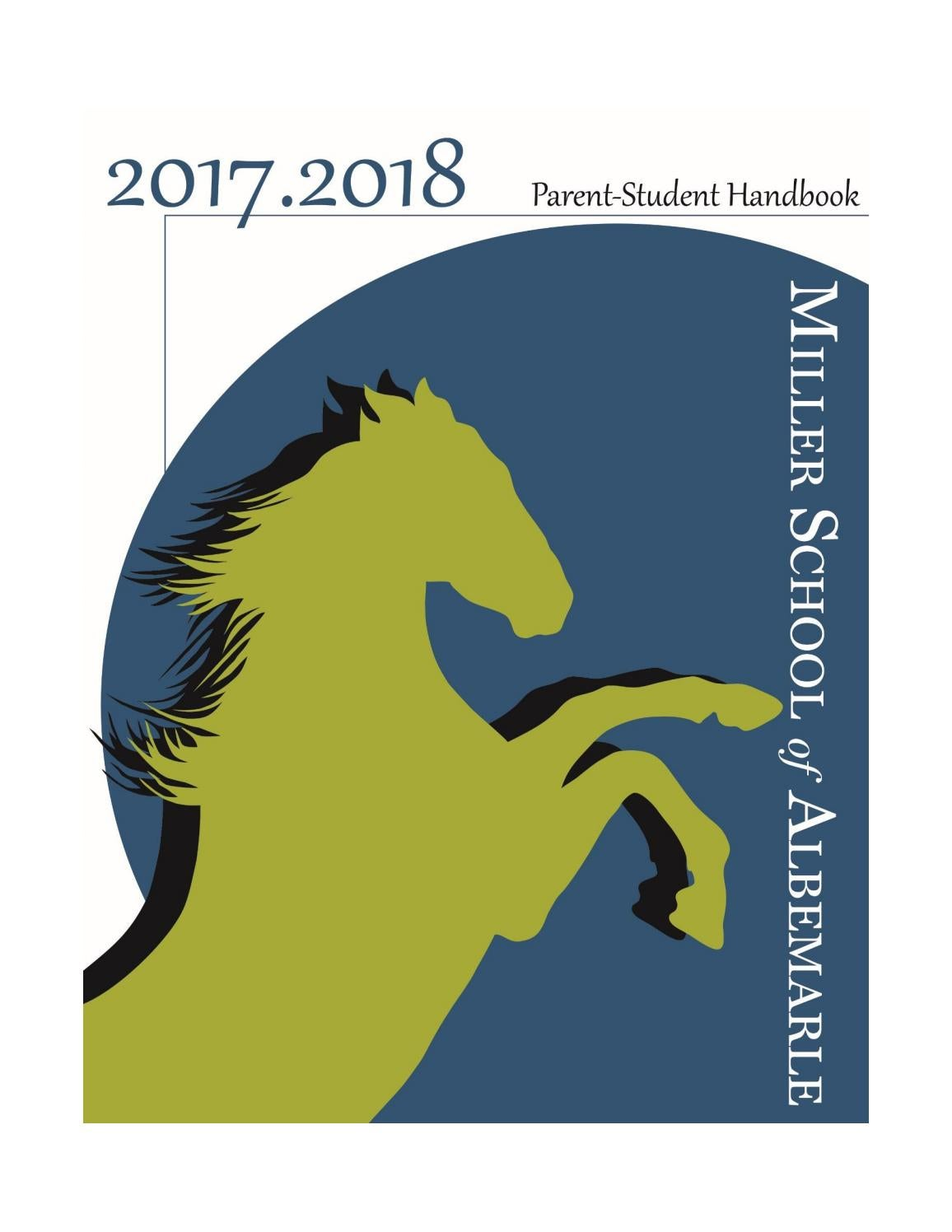 MSA Parent-Student Handbook 2017/2018 by Miller School of Albemarle - issuu