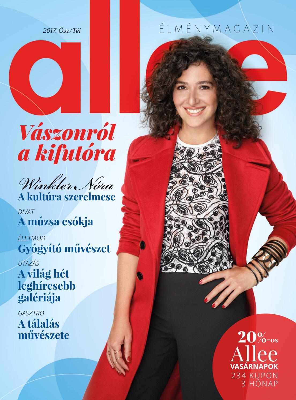 Allee magazin 2017 (ősz tél) by Allee Bevásárlóközpont - issuu e41f2ddcc1