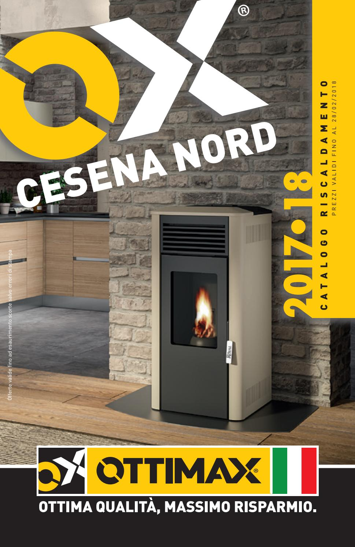 Save riduzione acciaio porcellanato marrone Ø 120 x 90 mm 12 x 9 cm stufa legna