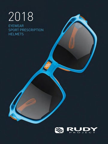 0759a2bdf8d8 2018 Eyewear   Helmets Catalogue (English) by Rudy Project - issuu