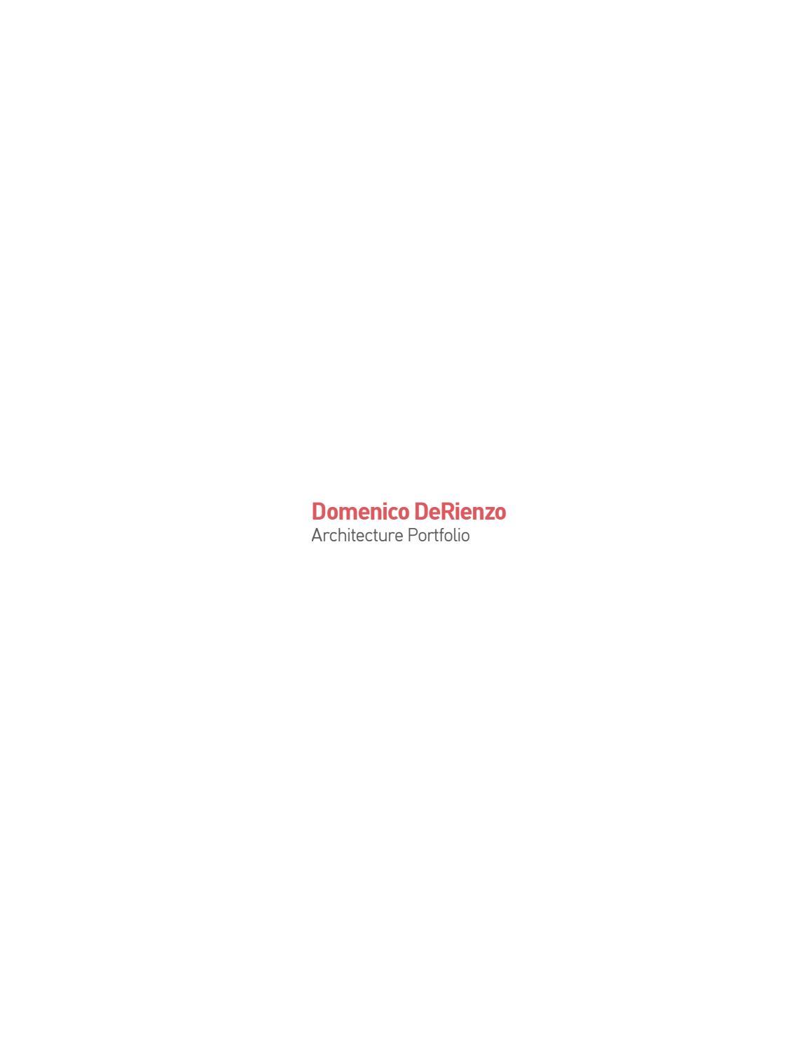 Portfolio by Domenico DeRienzo - issuu