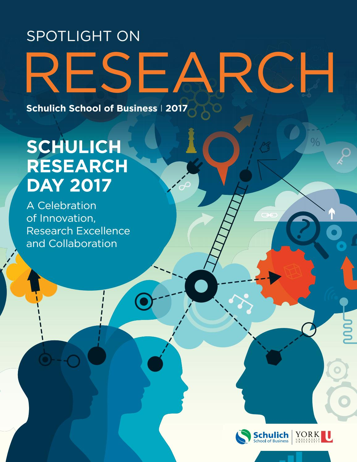 e126dfc5c56 Spotlight on Research 2017 by Schulich School of Business - issuu