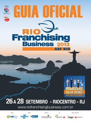 99a76c0b4 Guia Oficial Expo Franchising ABF-Rio 2013 by Editora Lamonica ...