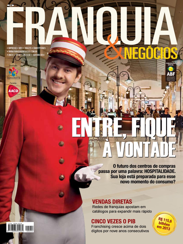 Revista Franquia   Negócios ABF nº 75 by Editora Lamonica Conectada ... a06c94b4fa