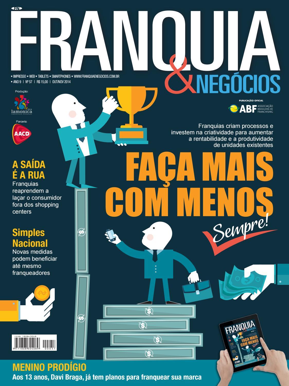 Revista Franquia   Negócios ABF nº 57 by Editora Lamonica Conectada - issuu bc3a25b751