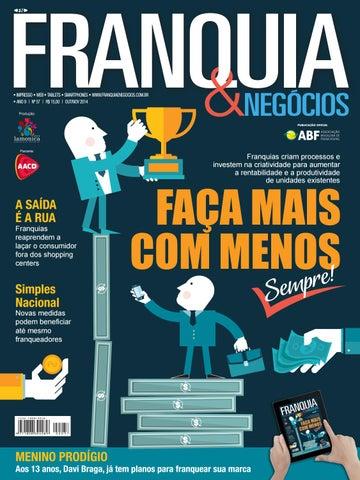 IMPRESSO § WEB § TABLETS § SMARTPHONES § www.franquiaenegocios.com.br § ANO  9  51b546995d611