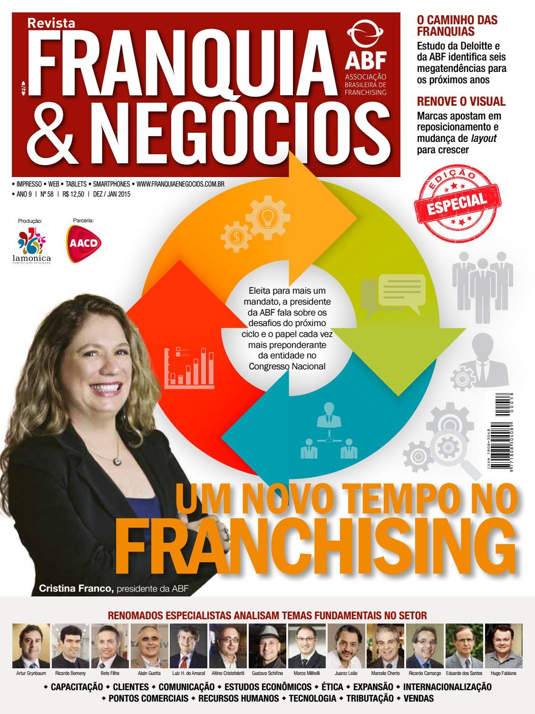 cb1e306f703e7 Revista Franquia   Negócios ABF nº 58 by Editora Lamonica Conectada - issuu