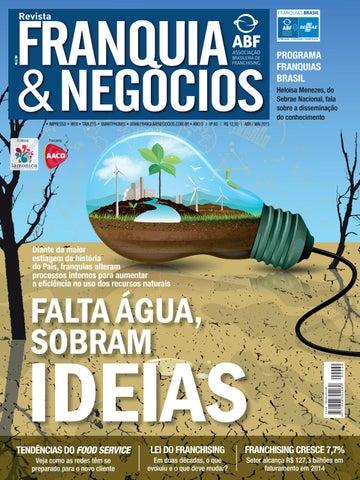 Revista Franquia   Negócios ABF nº 60 by Editora Lamonica Conectada ... 3f6d69b8ae