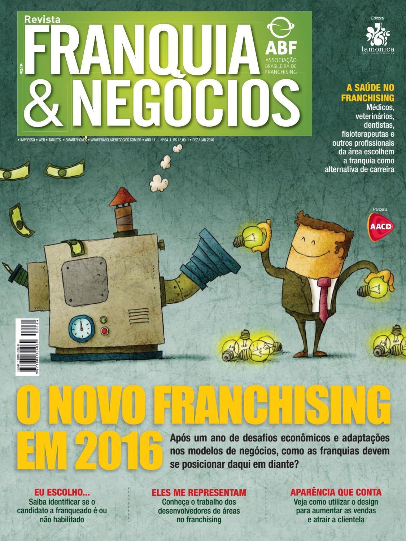 Revista Franquia   Negócios ABF nº 64 by Editora Lamonica Conectada - issuu 1007c37f87c52