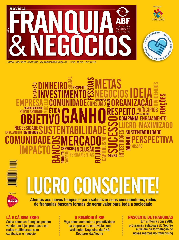Revista Franquia   Negócios ABF nº 63 by Editora Lamonica Conectada - issuu ce96a8f3b51