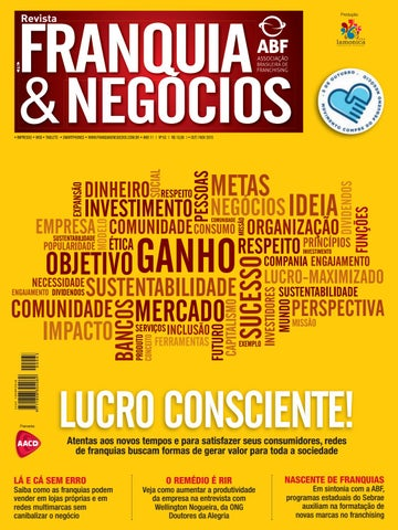 Revista Franquia   Negócios ABF nº 63 by Editora Lamonica Conectada ... f0aedadfd98