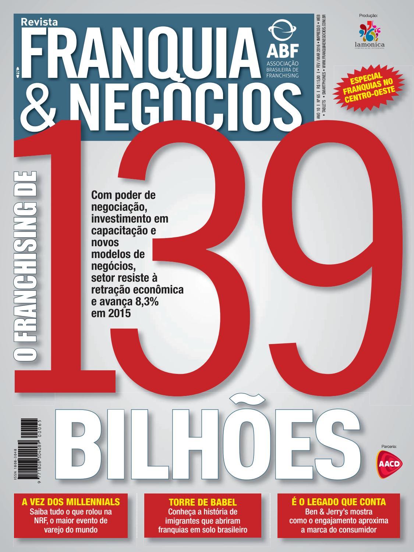 Revista Franquia   Negócios ABF nº 65 by Editora Lamonica Conectada - issuu 485504d732d