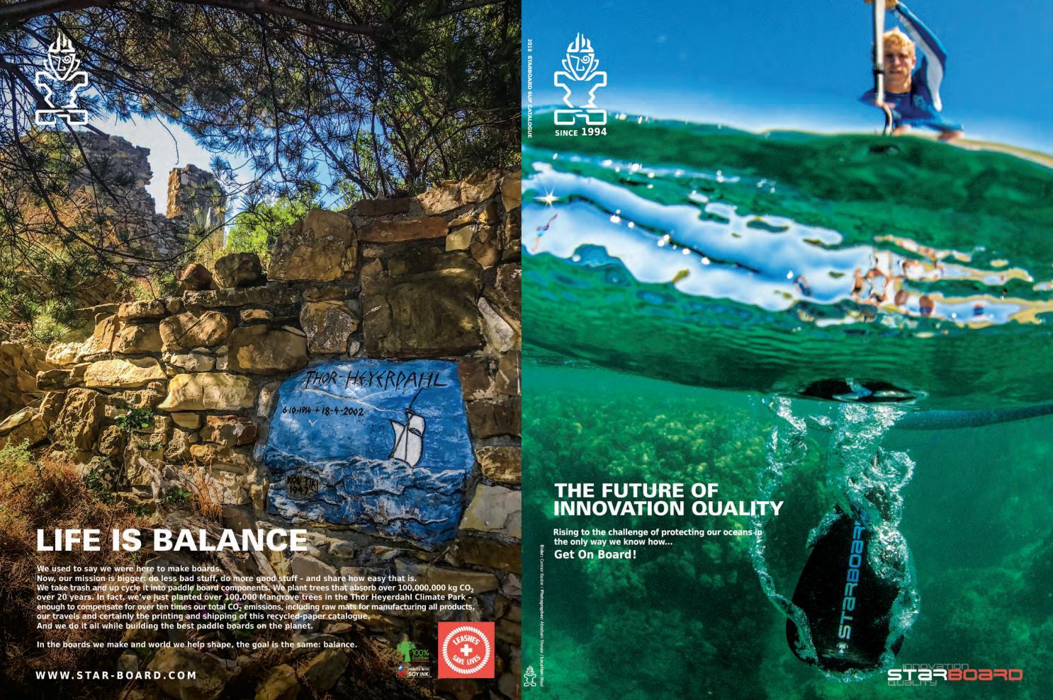 najlepsza wartość sprzedawane na całym świecie wiele kolorów 2018 Starboard SUP Product Guide by Green Water Sports - issuu