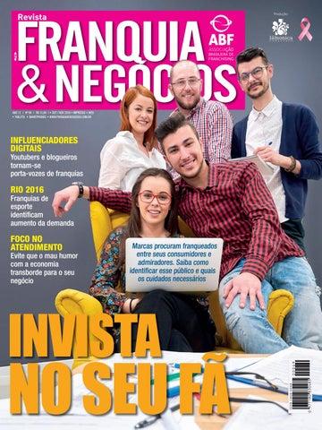 Revista Franquia   Negócios ABF nº 69 by Editora Lamonica Conectada ... 06ddac6b2ac0b