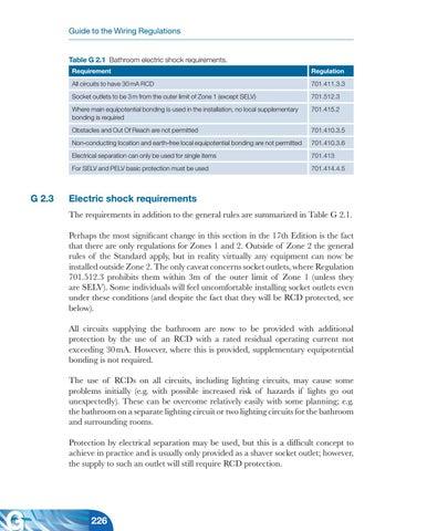 17th Edition Iee Wiring Regulations By Kanaga Gnana Issuu