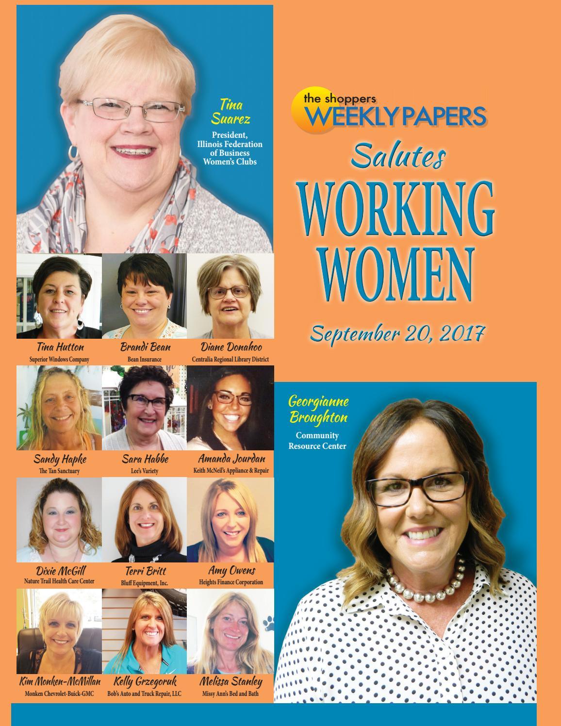 The Shopper S Weekly Working Women 2017 By Scott Pinkowski