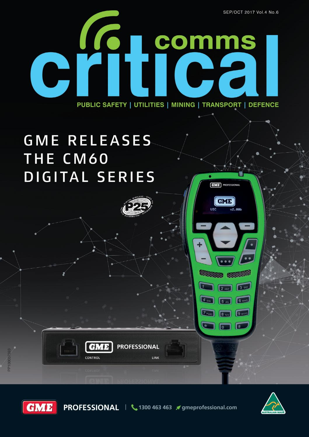 Critical Comms Sep Oct 2017 By Westwick Farrow Media Issuu Solid State Relay Jakarta