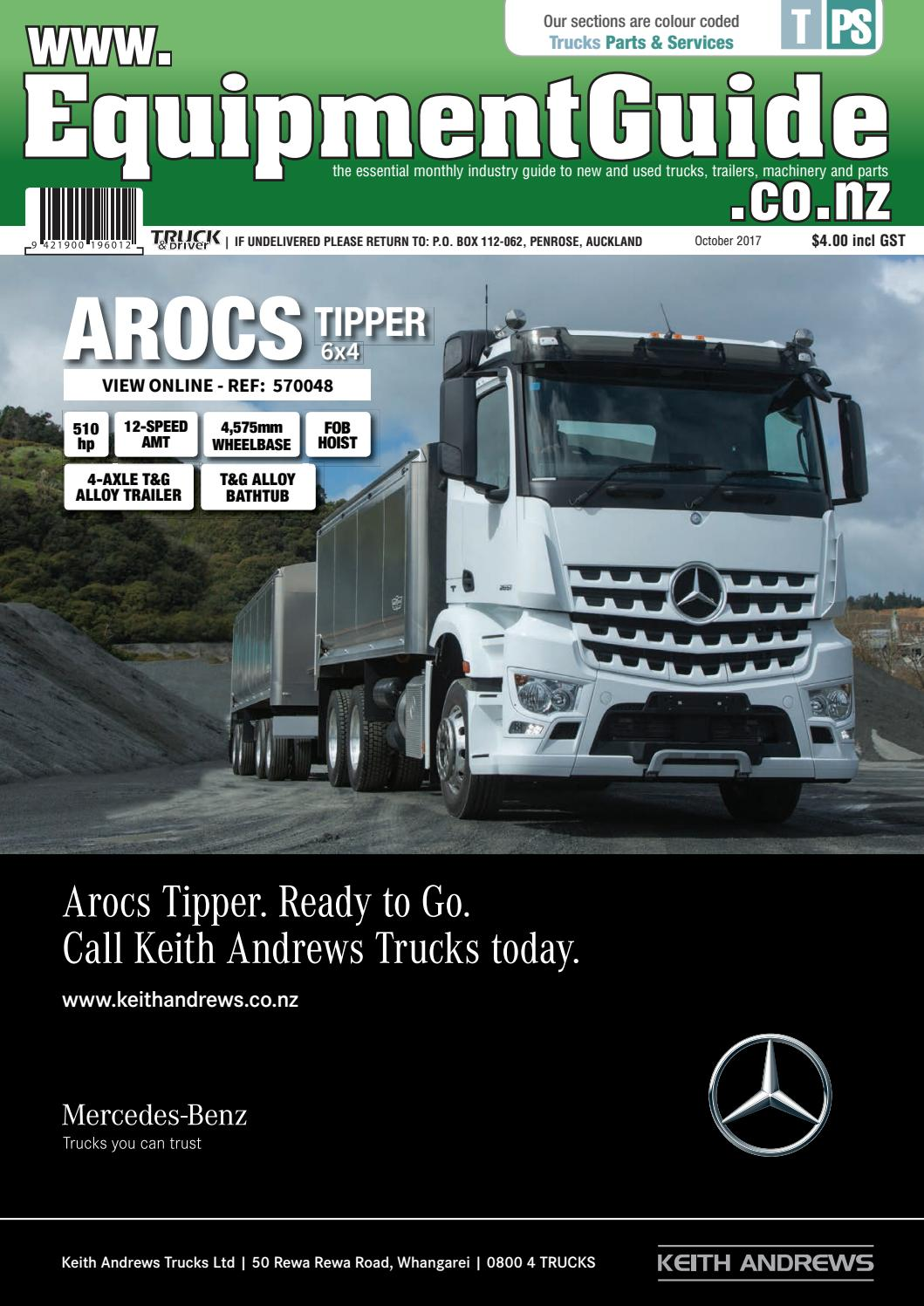 Equipment Guide October 2017 by NZ Truck & Driver - issuu