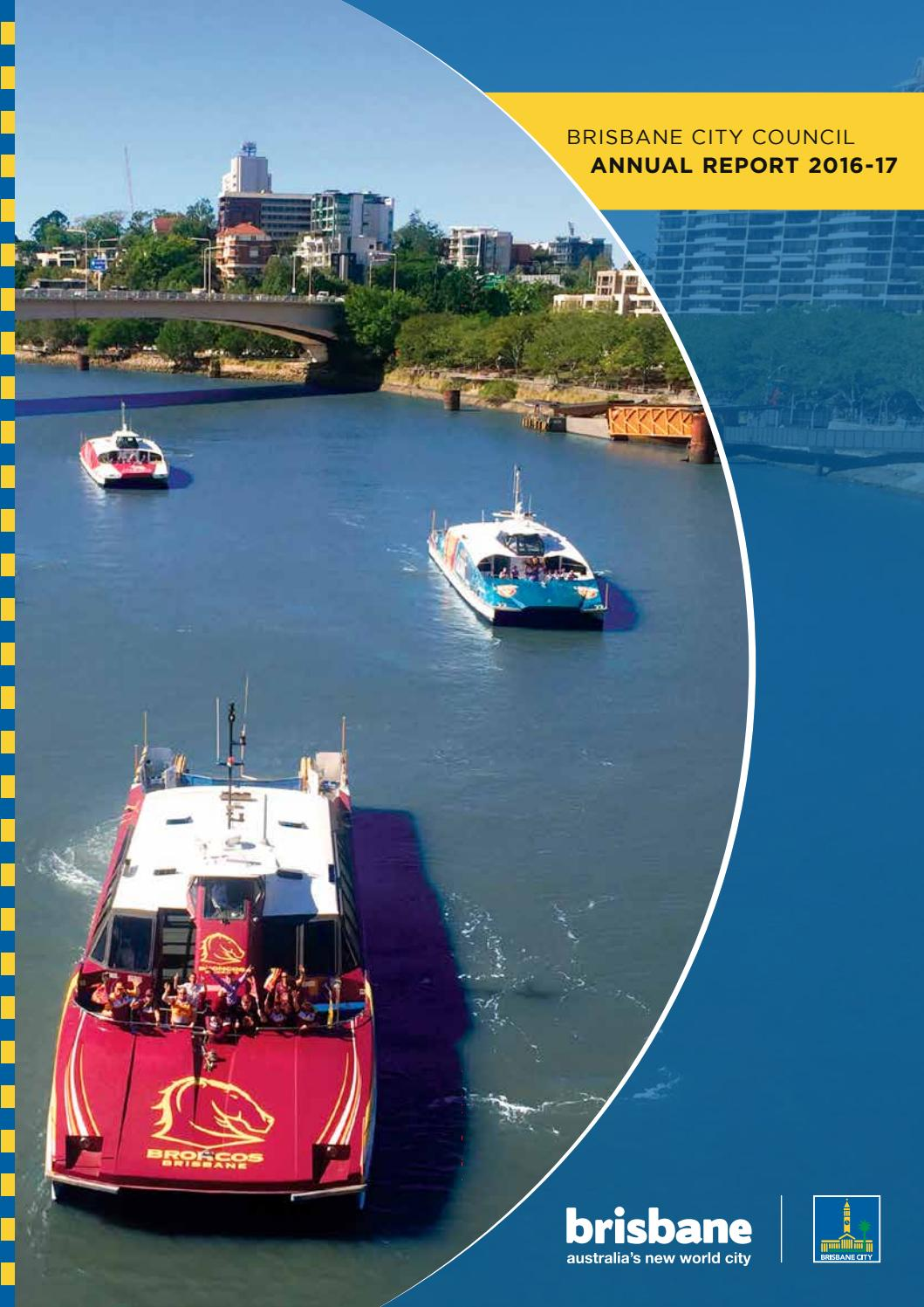 Brisbane City Council Annual Report 2016 17 by