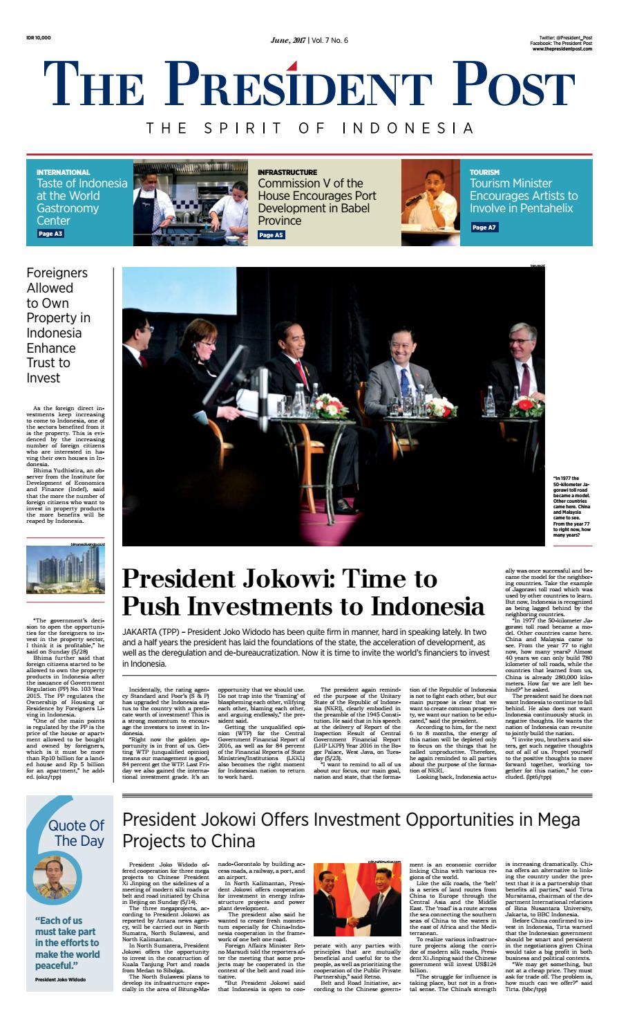 The President Post English Edition June 2017 By Ksp Kav 3 User Issuu