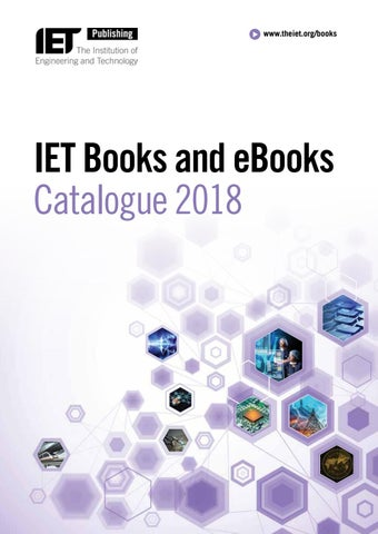 Iet books and ebooks catalogue 2018 by the institution of page 1 fandeluxe Image collections