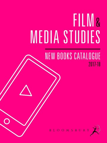 Film & Media Studies Catalogue 2017-18