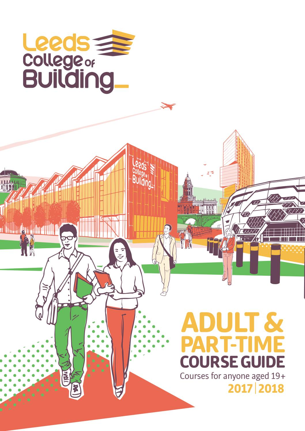 Leeds College Of Building Part Time Course Guide By Leeds College Of