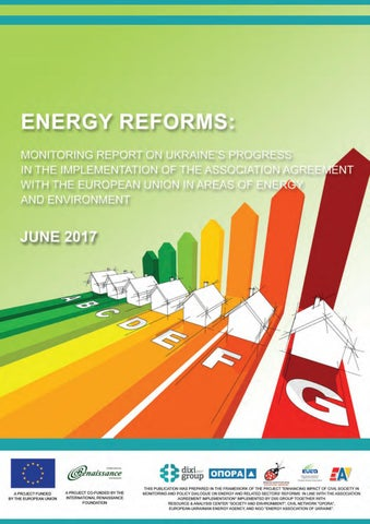 energy reforms june 2017 review by ukrainian energy issuuenergy reforms june 2017 review