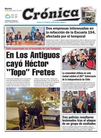 A2e6bcf6d61637a5a379558f99d3f3a8 by Diario Crónica - issuu