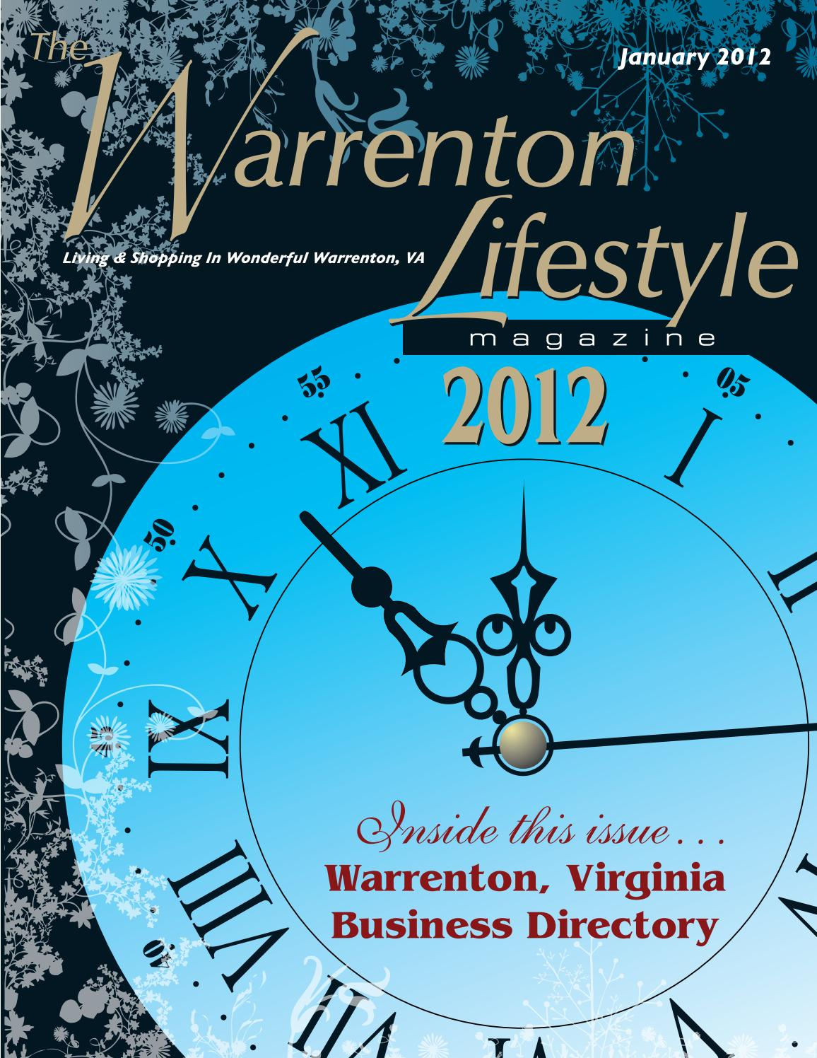 Warrenton Lifestyle Magazine January 2012 by Piedmont Publishing ...