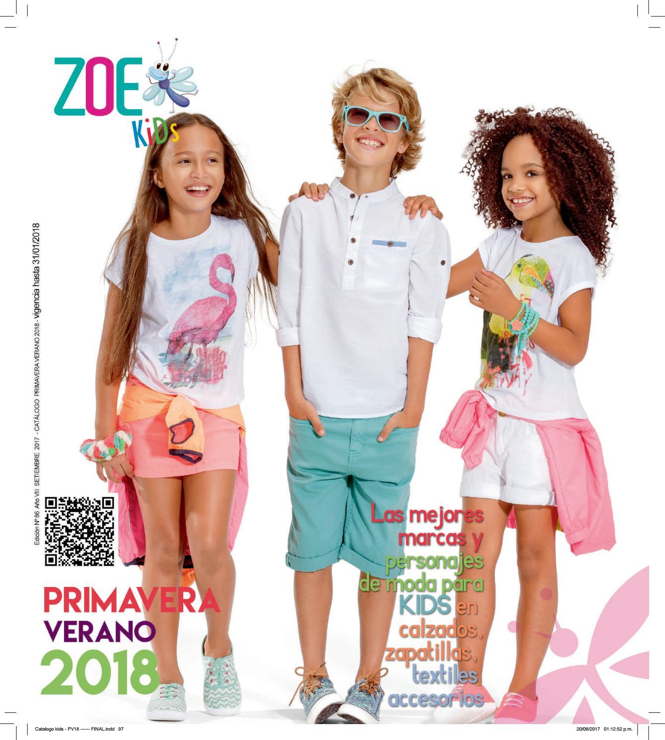 Catálogo Kids Primavera Verano 2018 by Catálogos Zoe