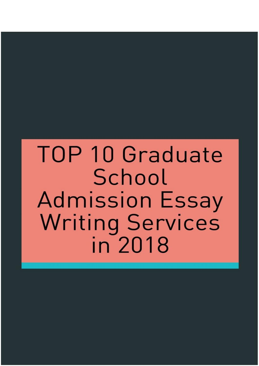 Best grad school essay writing service