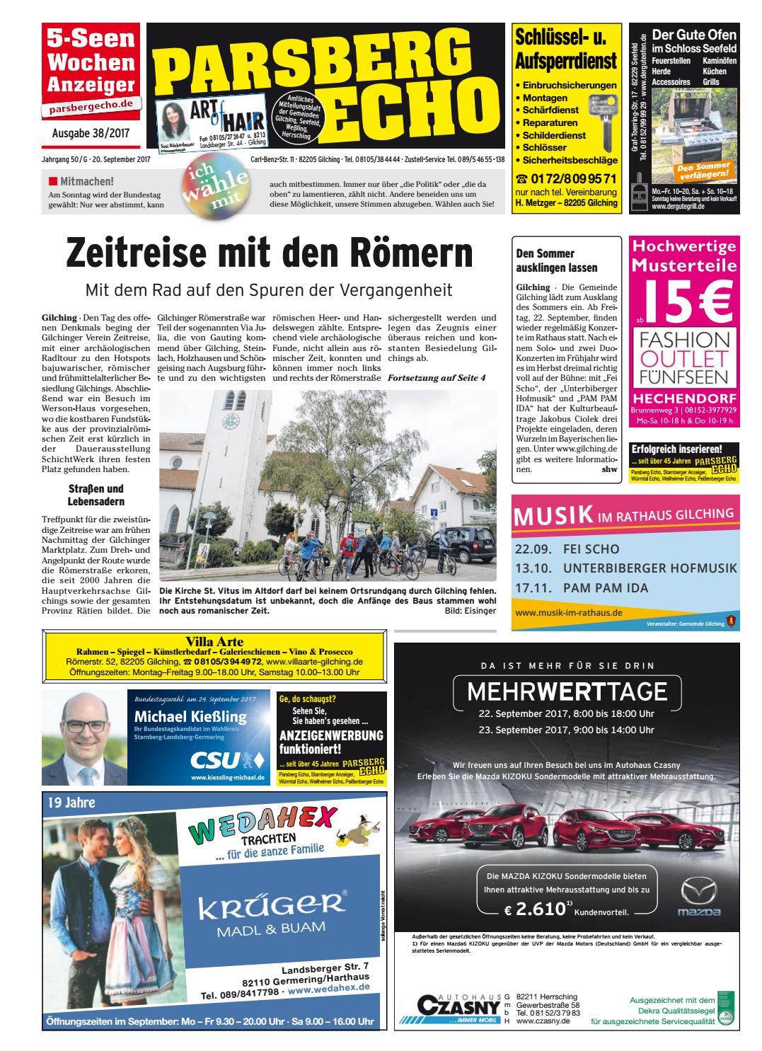 KW 38-2017 by Wochenanzeiger Medien GmbH - issuu