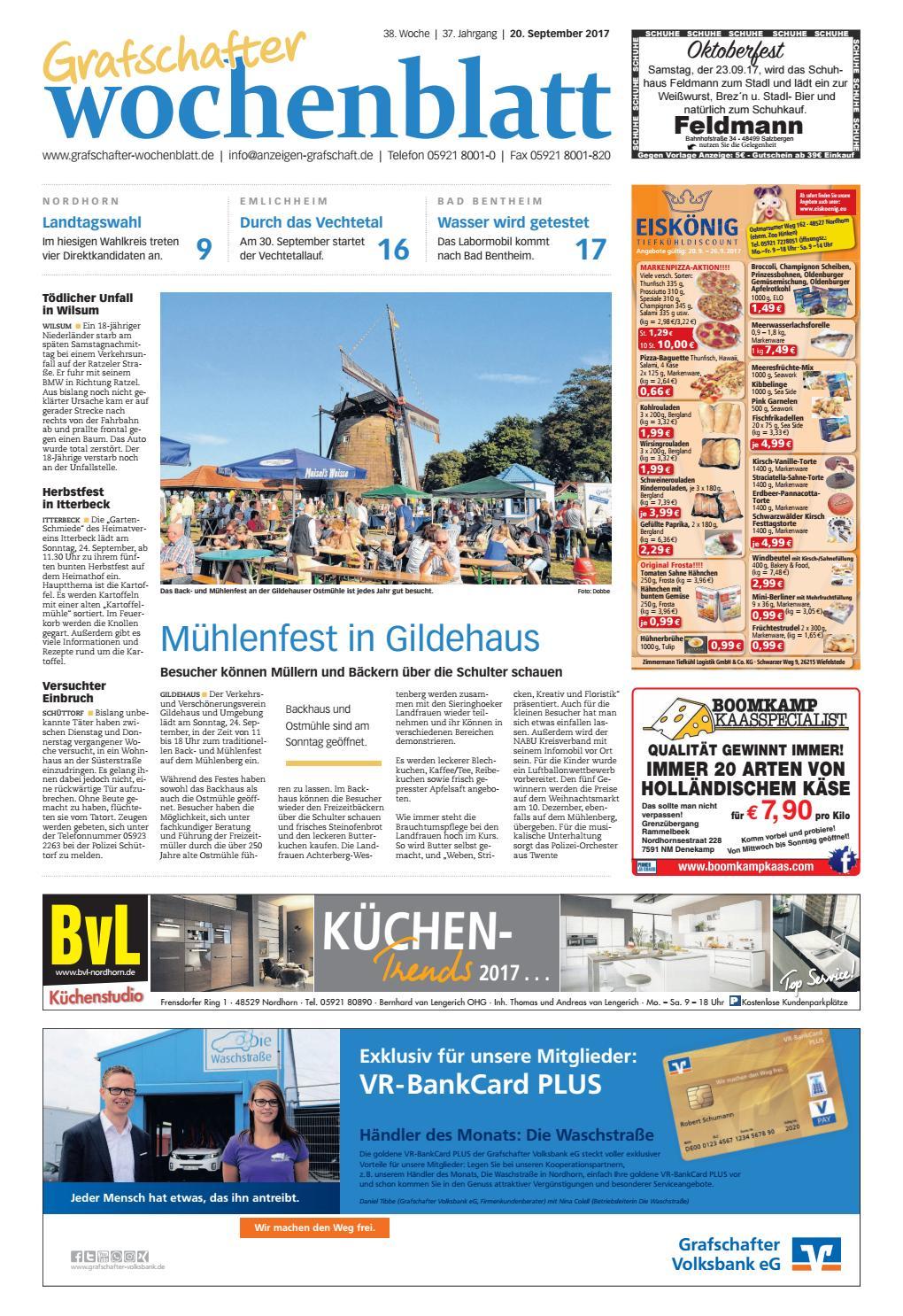 Grafschafter Wochenblatt 20. September 2017 By SonntagsZeitung   Issuu