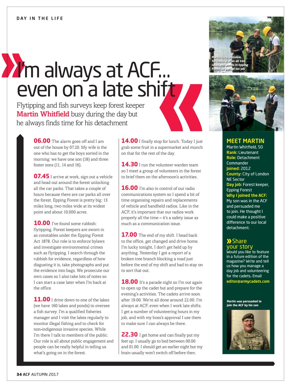 f3cabaa030ea Army Cadet Volunteer Magazine Autumn 2017 by Army Cadets - issuu