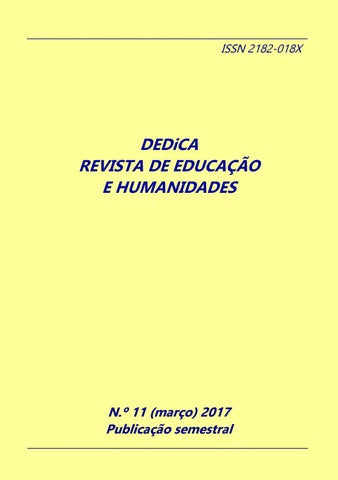 Dedica Nº 11 2017 Issn 2182 018x By Dedica Revista De