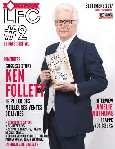 f88088a555274 LFC Magazine  2 Ken Follett Septembre 2017 by La Fringale Culturelle ...