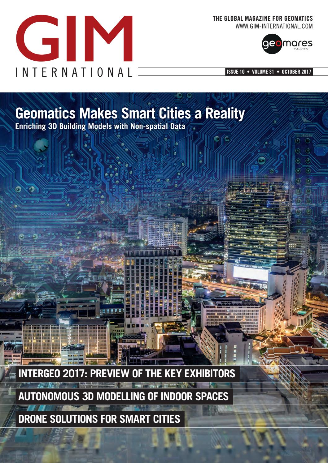 Gim international october 2017 by geomares publishing issuu for International builders show 2017 exhibitors