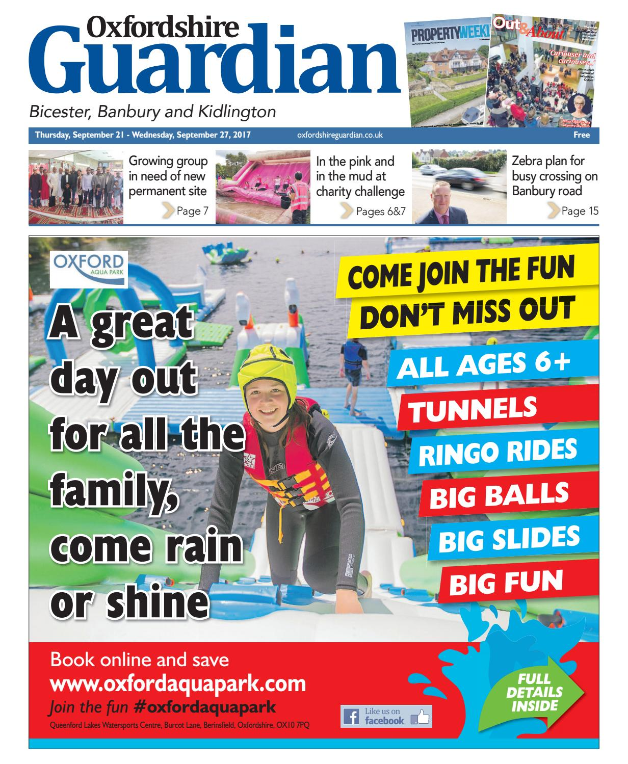 21 September 2017 Oxfordshire Guardian Bicester By Taylor Newspapers