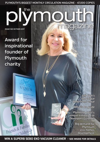 PLYMOUTHS BIGGEST MONTHLY CIRCULATION MAGAZINE