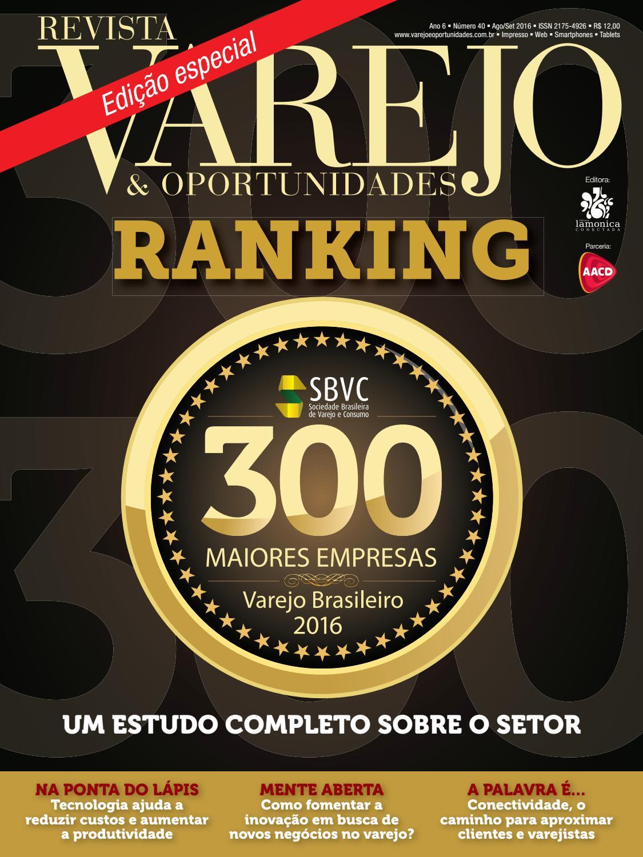 67f64165f5 Revista Varejo   Oportunidades nº 40 by Editora Lamonica Conectada - issuu