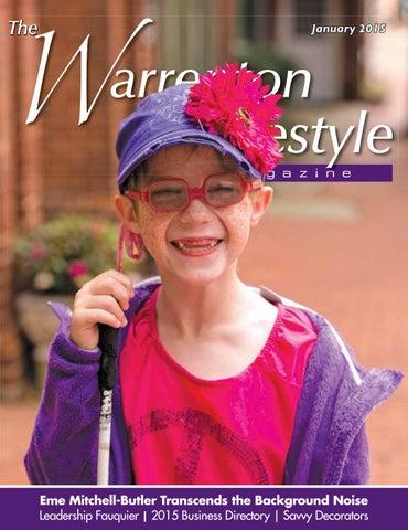 c9d1dabf396 Warrenton Lifestyle Magazine January 2015 by Piedmont Publishing ...