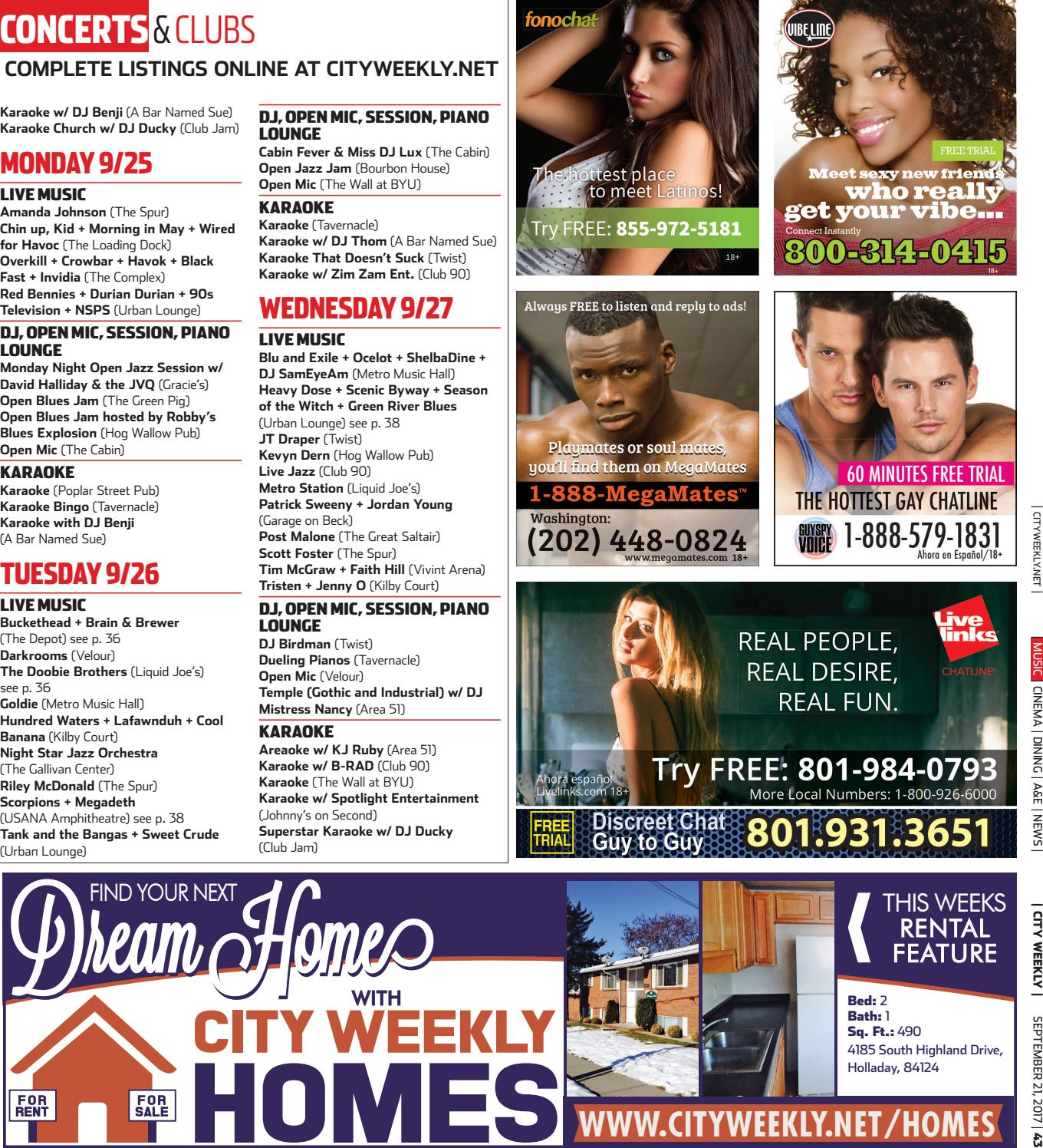 City Weekly September 21, 2017 by Copperfield Publishing - issuu