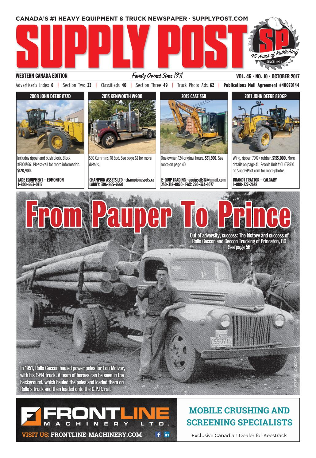 Supply Post West October 2017 by Supply Post Newspaper - issuu