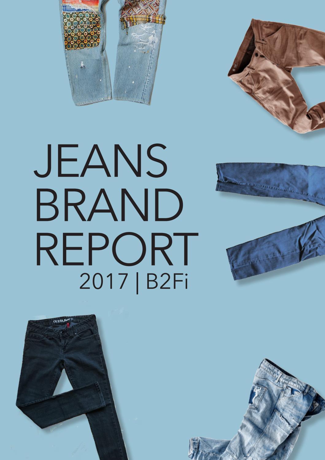 864714c88177 Jeans Brand Report by CLASS B2Fi - issuu