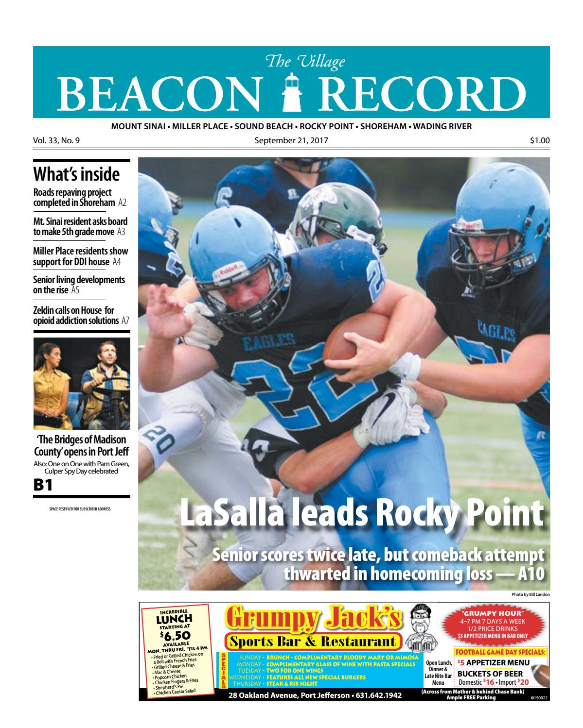The Village Beacon Record - September 21, 2017 by TBR News Media - issuu