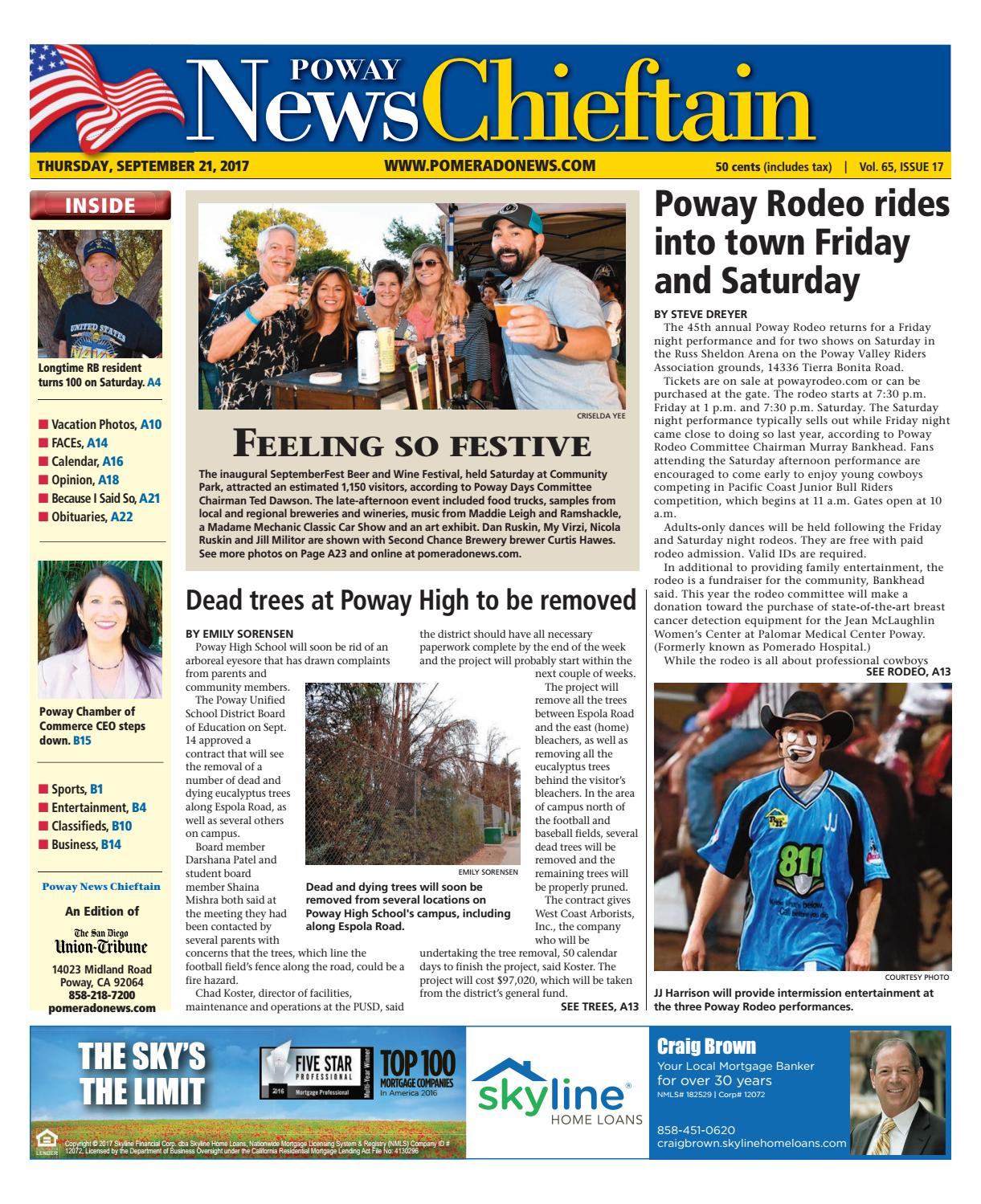 583d499ae94306 Poway News Chieftain 09 21 17 by MainStreet Media - issuu